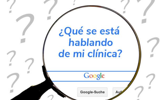 Monitorizar tu clínica de fisioterapia en internet: Google Alertas y otras herramientas gratuitas